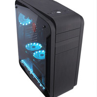 PC Rakitan Gaming / Design - i5-7400, 16GB, Dual Monitor, RX550 4GB