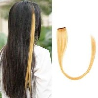 Strike Highlight Hair Clip Mocca Hair Extension Rambut Sambung Jepit