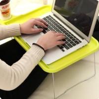 Meja Lipat portable Meja laptop plastik Meja piknik travel portable