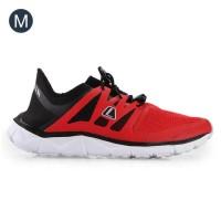 Sepatu League Kumo Racer Red Black Men Pria Original