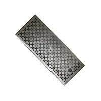 DTCUSTOMS Flat Medium 43.2cm Manual Brew Tray Stainless Steel V1.1