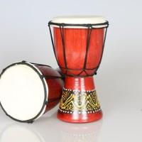 Jimbe Djembe Drummer Perkusi Alat Musik Afrika