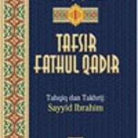 Buku Tafsir Fathul Qadir Jilid 1