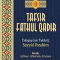 Buku Tafsir Fathul Qadir Jilid 3