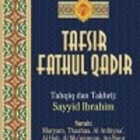 Buku Tafsir Fathul Qadir Jilid 7