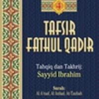 Buku Tafsir Fathul Qadir Jilid 4