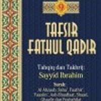 Buku Tafsir Fathul Qadir Jilid 9