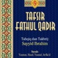 Buku Tafsir Fathul Qadir Jilid 5