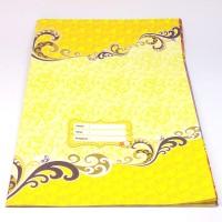 Sampul Buku Kertas Batik - Kwarto