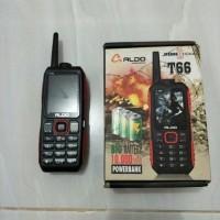 HP OUTDOOR ALDO T66 BATERAI 10000MAH / HP BISA JADI POWERBANK