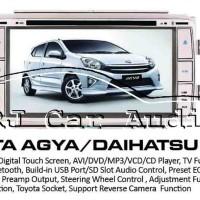 TV OEM khusus Toyota Agya - Ayla GPS Build in/double din/headu Diskon