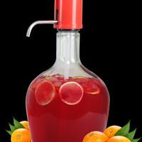 Glass dispenser / infused water tank / hand pump 3.9 liter