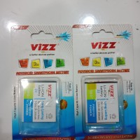 Baterai Battery Vizz Samsung Tizen Z2 Double Power Original