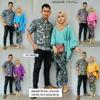 Batik Couple Rabbani (gamis dan kemeja)