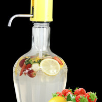 Glass dispenser / infused water tank / handpump drink water 2 liter