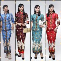 Rok dan Blus Ayumi Zigzag | Pabrik Baju Batik wanita