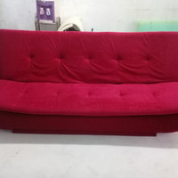 Sale Murah Tangerang Sofa Bed Pillow Merah