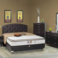 Floresta Set Kasur Spring bed Single Cassola Pillow Top 100 x 200