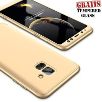 Samsung A8 Plus 2018 Full Cover Armor/ cashing hp murah / case origina