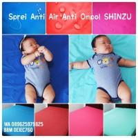 Sprei Anti Air SHINZU uk. 200x200x30 + 1 Set Bangul Anti Air