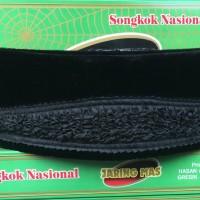 Songkok & Peci Nasional Jaring Mas Kharisma Hitam AC