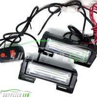 Sale! Lampu Led Plasma Blitz Blits Strobo Strobe 17Cm Motor Mobil