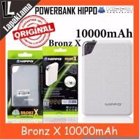 Turun Harga PowerBank Power Bank HIPPO Bronz X 10000mAh Original 100