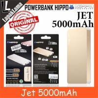 Turun Harga PowerBank Power Bank HIPPO Jet 5000mAh Original 100 Power