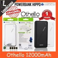 Turun Harga PowerBank Power Bank HIPPO Othello 12000mAh Original 100