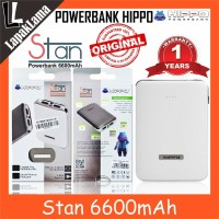 Turun Harga PowerBank Power Bank HIPPO Stan 6600mAh Original 100 Powe