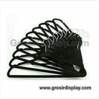 Harga hanger palang bludru dewasa gantungan atasan perlengkapan toko | antitipu.com