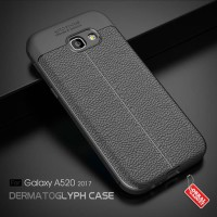 Softcase Leather TPU Silicon Cover Casing for Samsung A5 2017