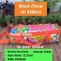 Block Pintar Lego Block Duplo Tas isi 458 pcs