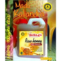 Harga madu kaliandra 1500gr madu asli raw | Pembandingharga.com