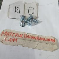 Harga baut kepala obeng 10x30mm baut jf baut elektronik skrup mur baut   antitipu.com