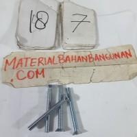 Harga baut kepala obeng 6x45 mm baut jf baut elektronik skrup mur baut   antitipu.com