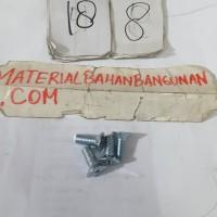 Harga baut kepala obeng 8x15 mm baut jf baut elektronik skrup mur baut   antitipu.com