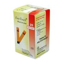 Easytouch Uric Acid Test Strip Cek Asam Urat Easy Touch Refill Isi 25