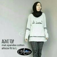 agni top ori adv  alhamdulillah top hijab  baju hijab