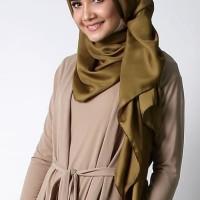 [ PROMO ] Pashmina Satin Polos (Grosir Kerudung/Jilbab/Hijab Segi