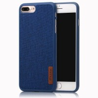 Softcase TPU Slim Leather Denim Cover Case Casing HP Motorola E4 Plus