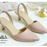 Sepatu Sandal Zara Basic Replika Salem Pink