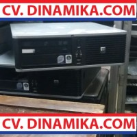 Komputer UNBK CPU PC core2duo slim HP branded ori murah garansi