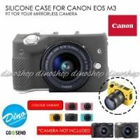 Silicone Canon EOS M3 Silikon Case - Sarung Silicon Kamera Mirrorles