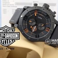 Promo Jam Tangan Pria Harley Davidson model Expedition 6381 Chronogra