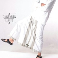 Celana Sarung Dewasa Bin Affan Putih Cesar Sarung Celana Sarcel