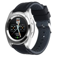 Cognos Smartwatch G6 - Heart Rate - Silicone Silver Black U8 U9 Dz09