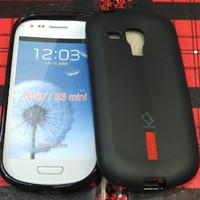 Silikon capdase karet soft case Hitam samsung galaxy s3 mini i8190