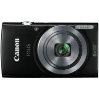 Ori Canon IXUS 160 - 20 MP - 8x Optical Zoom - Hitam + Bonus SDHC