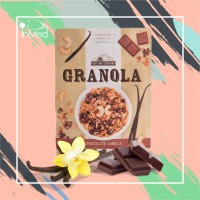Granola Chocolate Vanilla 400gr, East Bali Cashews, granola 400gr